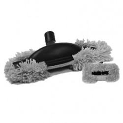 Brosse mop grise speciale parquet