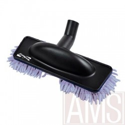 Brosse rasta mop microfibre grise speciale parquet