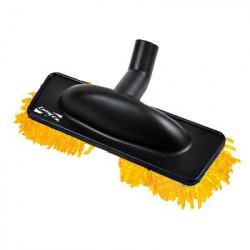 Brosse rasta mop microfibre orange speciale parquet