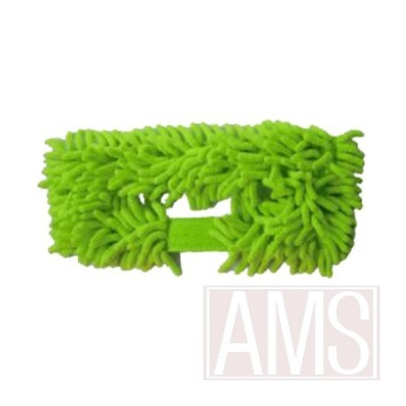 Mop rasta de remplacement verte