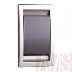 Prise abs Argent & Anthracite