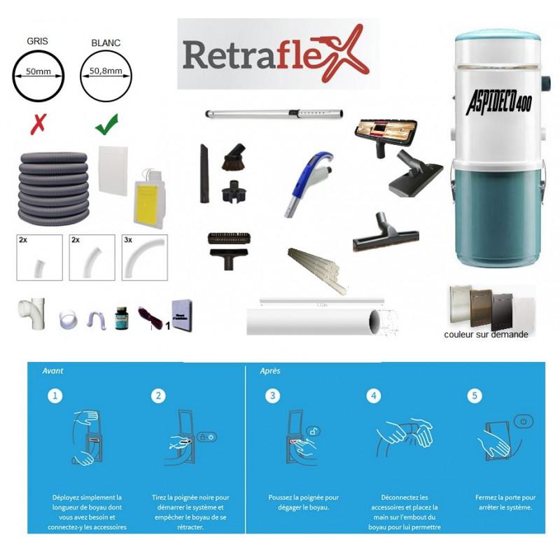 RETRAFLEX PACK ASPIRATION