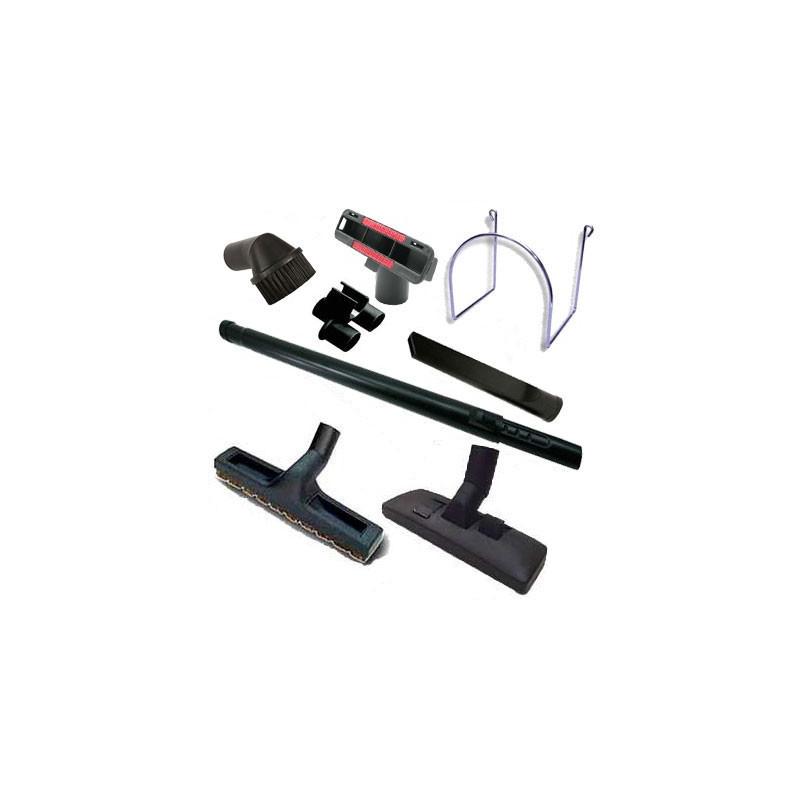 Kit 8 accessoires brosses aspirateur