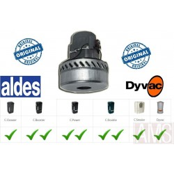MOTEUR 1400W ALDES C.Power,C.Booster, C.Cleaner Dyvac