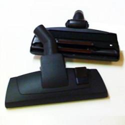 Brosse combinée mixte noire roulette centrale  D32